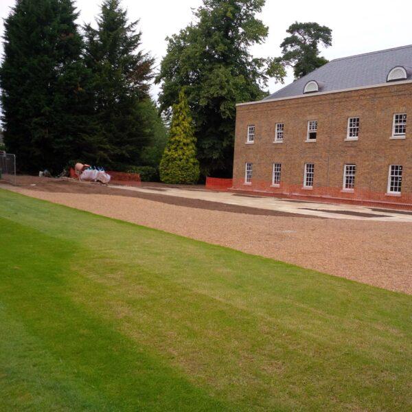 University lawn