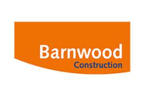 Barnwood construction logo